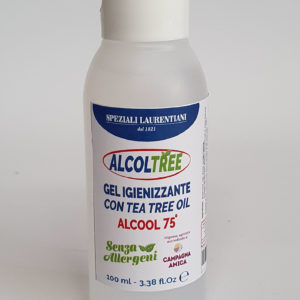 ALCOLTREE soluzione alcolica 75°con tea tree oil - Gel 100ml