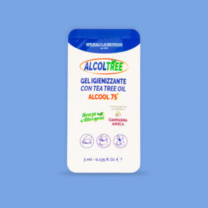 Bustine AlcolTree Gel al tea tree oil